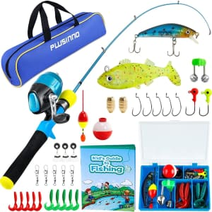 Plusinno My First Fishing Pole Combo Kit from $20