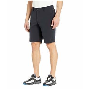 Under Armour Men's Showdown Vented Golf Shorts, Black (001)/Black, 40 for $36