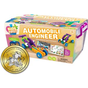 Thames & Kosmos Kids' First Automobile Engineer Kit for $11
