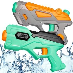 Snaen Water Gun 2-Pack for $4