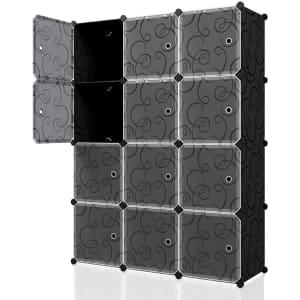 """Kousi 14"""" x 14"""" Portable Cube Storage for $44"""