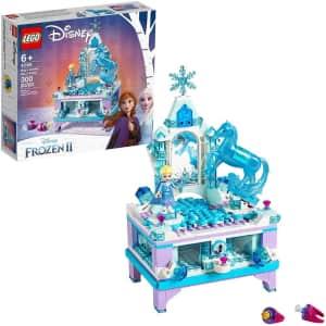 LEGO Disney Frozen II Elsa's Jewelry Box Creation Kit for $32