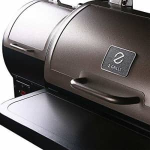Z GRILLS 2021 Upgrade Wood Pellet Grill & Smoker 8 in 1 BBQ Grill Auto Temperature Control for $453