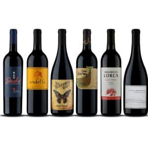 Naked Wines: 6 bottles of wine for $40