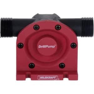 Milescraft DrillPump750 Self-Priming Water Transfer Pump for $12