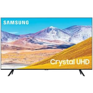 "Samsung UN55TU8000FXZA 55"" 4K HDR LED UHD Smart TV for $465"