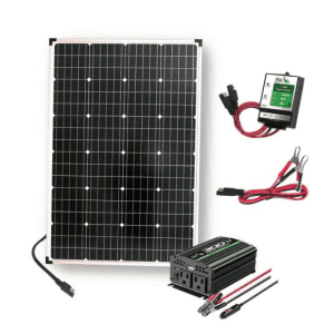 Nature Power 110-Watt Polycrystalline Solar Panel Kit for $104