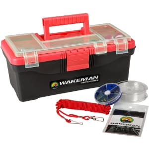 Wakeman 55-Piece Tackle Kit for $15