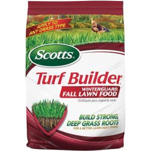 Scotts Turf Builder WinterGuard 12.5-lb. Fall Lawn Food for $16