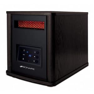 Bionaire BRH7403ERE-CN Infrared 6 Quartz Console Heater, 1500 Watts, Brown for $150