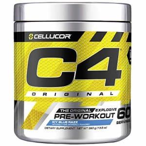Cellucor C4 Original Pre Workout Powder ICY Blue Razz - Vitamin C for Immune Support - Sugar Free Preworkout for $61