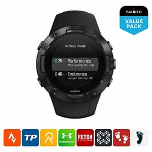 Suunto 5, Lightweight and Compact GPS Sports Watch with 24/7, Activity Tracking and Wrist-Based for $230