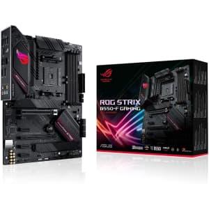 Asus ROG Strix B550-F AMD Ryzen ATX Gaming Motherboard for $180