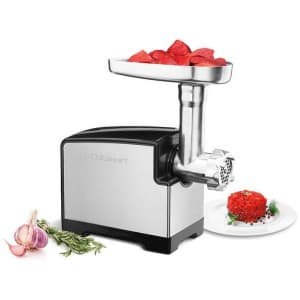Cuisinart 300W Stainless Steel Electric Meat Grinder for $85