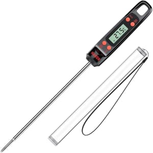 Habor Digital Instant Read Meat Thermometer for $8