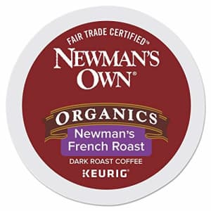 Newman's Own Organics Special Blend Decaf, Single-Serve Keurig K-Cup Pods, Medium Roast Coffee, 24 for $16