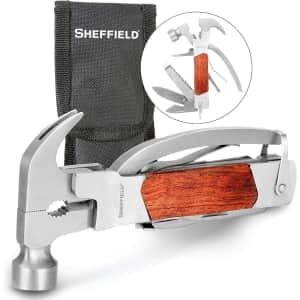 Sheffield 14-in-1 Hammer Multi Tool for $19