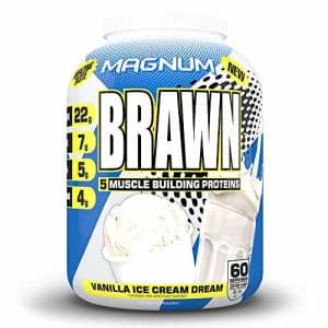 Magnum Brawn, Low-Lactose Protein Mix, Vanilla for $55