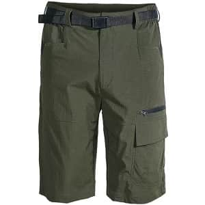 Msmsse Men's Hiking Shorts for $14