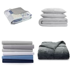 Bedding at Kohl's: 60% to 75% off