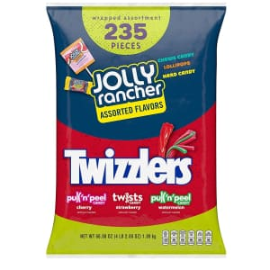 Hershey Jolly Rancher and Twizzlers 235-Piece Variety Bag for $10