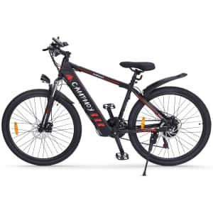 "Campmoy 26"" 21-Speed 350W Electric Mountain Bike for $700"