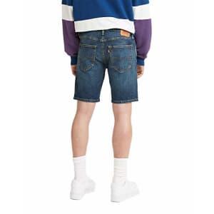 Levi's Men's 412 Slim Jean Shorts, Una Noche Adv - Dark Indigo, 36 for $30
