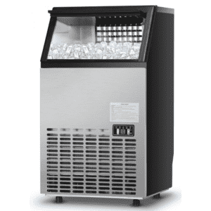 Costway Portable Built-In Stainless Steel Commercial Ice Maker for $425