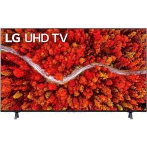 "LG 50UP8000PUA 50"" 4K HDR LED UHD Smart TV w/ AI ThinQ (2021) for $447"
