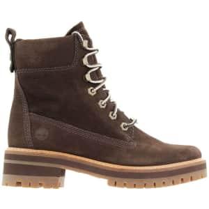 "Timberland Women's Courmayeur Valley 6"" Combat Boots for $90"