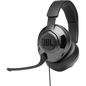 JBL Quantum 300 Wired Over-Ear Gaming Headphones for $80