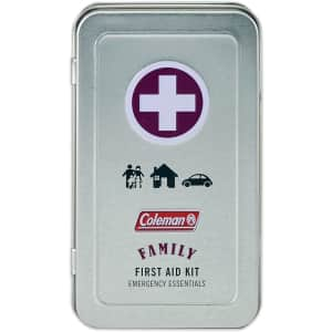 Coleman Family Size Emergency First Aid Kit for $11