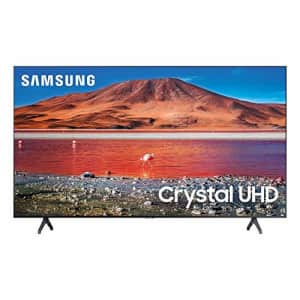 Samsung 75-inch TU-7000 Series Class Smart TV   Crystal UHD - 4K HDR - with Alexa Built-in   for $1,195