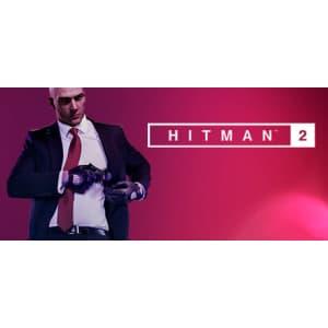 Hitman 2 Standard Edition Bundle for PC: $8.95