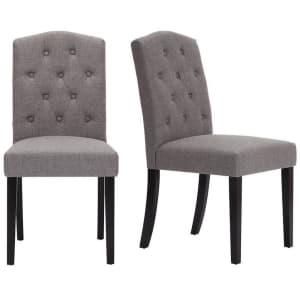 StyleWell Beckridge Upholstered Dining Chair: 2 for $115, 4 for $215, 6 for $301