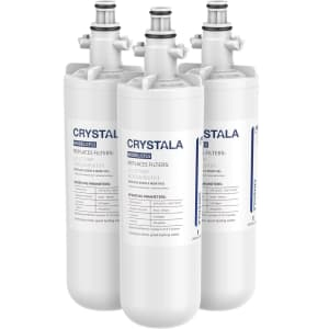 Crystala Replacement Water Filter 3-Pack for LG LT700P for $20