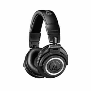 Audio-Technica ATH-M50xBT Wireless Bluetooth Over-Ear Headphones, Black, With Exceptional Clarity, for $179
