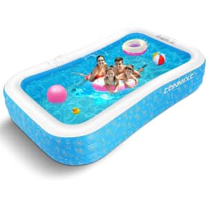 """Conmixc 118"""" Inflatable Pool for $53"""
