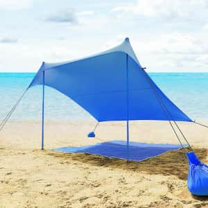 Costway 7x7-Ft. Canopy Sunshade for $65