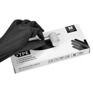 Okiaas TPE Latex-Free Disposable Gloves 100-Count: 50% off, from $5