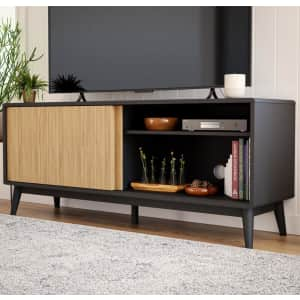 """Brookside Madison 58"""" Mid-Century Modern TV Stand for $183"""