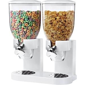 Zevro Dual Dry Food Dispenser for $27
