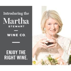 Martha Stewart Wine Club: 12 bottles of wine for $90
