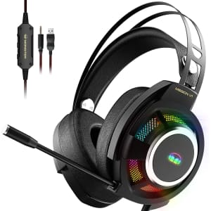 Monster Mission V1 RGB Gaming Headset for $80