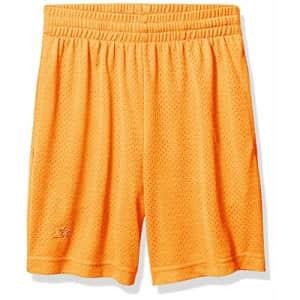 """Starter Boys 7"""" Mesh Short, Team Orange, Small for $8"""
