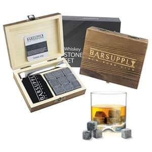 BarSupply Whiskey Stone 12-Piece Set for $13