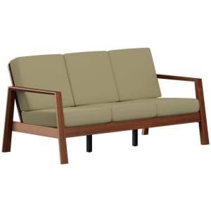 "Handy Living Columbus 69"" Mid-Century Modern Sofa for $367"