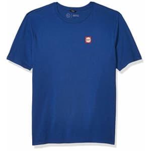 Brixton Men's GATE II Premium FIT Short Sleeve T-Shirt, Monaco Blue, S for $29
