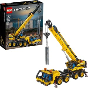 LEGO Technic: Mobile Crane 1,292-Piece Building Set for $100