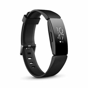 Fitbit Inspire HR Heart Rate & Fitness Tracker, One Size - S & L Bands Included (International for $100